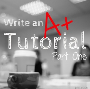 Write tutorials