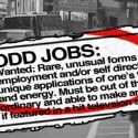 10.Take an odd job or two