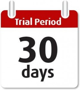 2 Main requirement Trial Period
