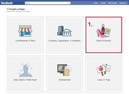 4. Create Fan Pages