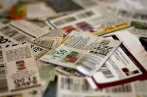 4.Set aside time to fix up your coupons