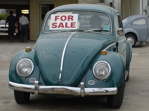 5 Advertise your car for sale
