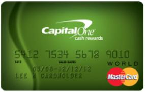 Capital One Cash Rewards Card