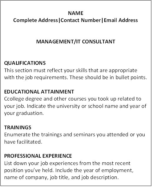 Educational attainment example resume 10 infoe link educational.