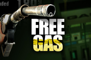 how to get free gas