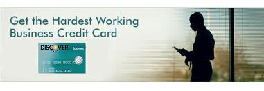 Discover Business Card