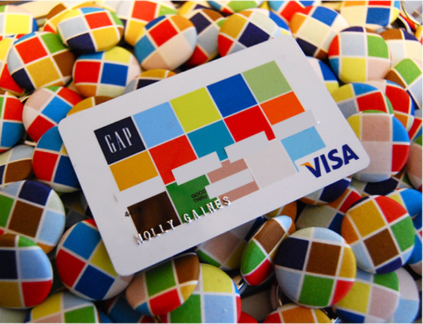 gap visa card